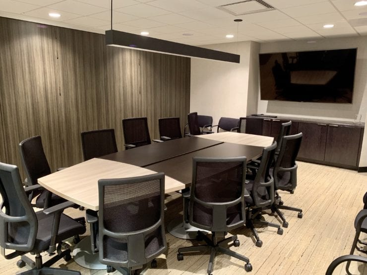 ACP Works With Manufacturers to Create New Spaces at Corporate Office
