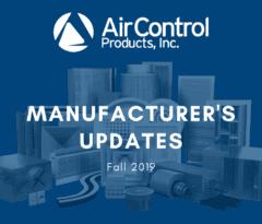 Fall Manufacturer's Updates