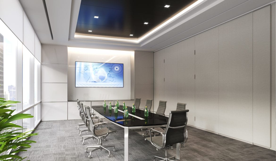 Encore Office Wall closed & Modernfold Operable Walls - Air Control Products Inc. Air Control ...